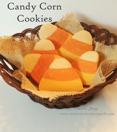 Candy Corn Kaleidoscope Cookies Recipe — Dishmaps