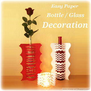Paper Bottle Decorations